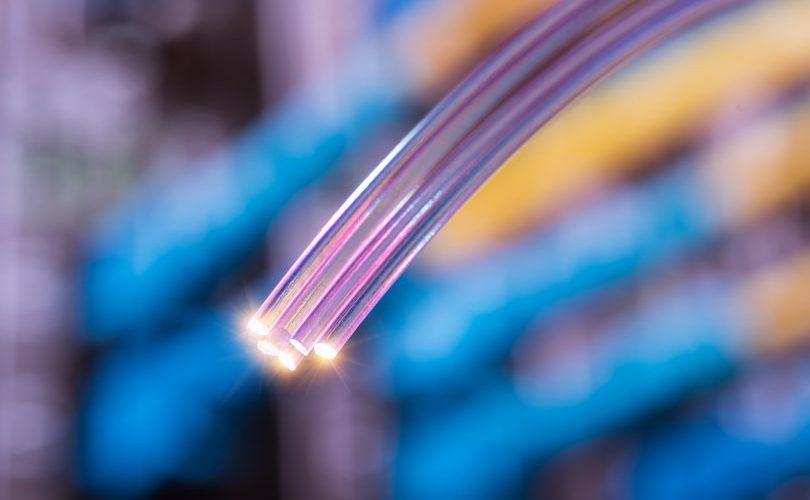 Fibra óptica en Collbató